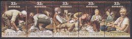 Australia ASC 1020-1024 1986 Click Go The Shears, Mint Never Hinged - 1980-89 Elizabeth II