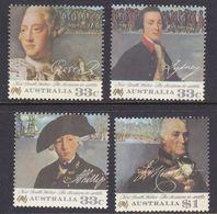 Australia ASC 1025-1028 1986 Bicentennial V,decision To Settle, Mint Never Hinged - 1980-89 Elizabeth II