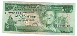 Ethiopia , 1 Birr, P-41b. UNC - Ethiopia