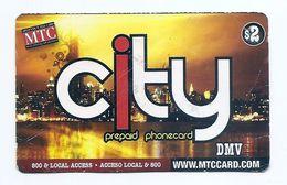 TELEPHONE CARD - USA - MTC CITY Prepaid DMV - Expired - USED - NO VALUE - United States