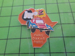 313F / PINS PIN'S Rare Et De Belle Qualité : THEME AUTOMOBILE / RALLYE PARIS DAKAR PARIS ? BUGGY AFRIQUE - Rallye