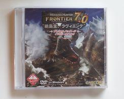 Monster Hunter Frontier 7.0 ( Japanese ) Install Disc ( DVD ROM For Windows ) - Electronic Games