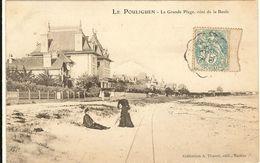 LE POULIGUEN   - La Grande Plage , Côté De La Baule  163 - Le Pouliguen