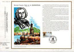 1988 DOCUMENT FDC NAVIGATEURS - LA BOURDONNAIS - FDC