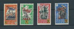 Belgique Belgïe E 34/37 - MNH ** - TB - Cote 400 € - Erinnophilie