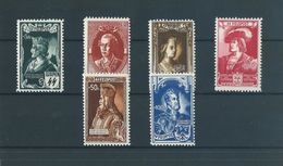 Belgique Belgïe E 38/43 - MNH ** - TB - Cote 255 € - Commemorative Labels