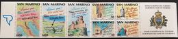 San Marino  1990 European Tourism Year Booklet - San Marino