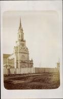 Photo Cp Riga Lettland, Kirche, Vorderansicht - Latvia