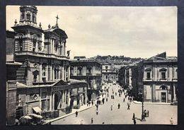Caltanisetta Corso Umberto  VIAGGIATA 1960  COD.C.2019 - Agrigento
