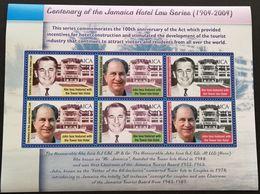 Jamaica 2004 Centenary Of The Jamaica Hotel Law Sheetlet - Jamaica (1962-...)