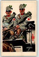 52824483 - Soldat WK I Werbung Leibniz Keks Rotes Kreuz - Künstlerkarten
