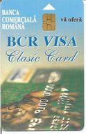 Télécarte De ROUMANIE - BCR VISA (Banca Comerciala Romana - 01/99 100 000 Ex.) - Roumanie