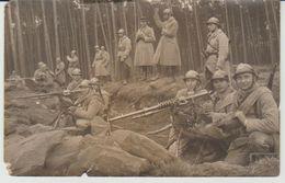Soldats En Manoeuvre Vers 1930, Lot De 2 Cartes Postales - Manoeuvres