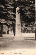 LILLE -59- MONUMENT DE BOUFFLERS BOIS DE BOULOGNE - Lille