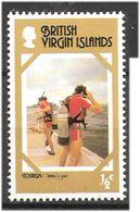 British Virgin Island 1978 Tourism, Checking Gear, Diving, Mi 327 MNH(**) - British Virgin Islands