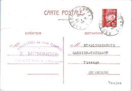 88 CHATENOIS : R. MUNINGER - Oblitération (entiers Postaux) - Chatenois