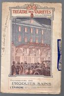 Toulouse (31 Haute Garonne)   :  Programme THEATRE DES VARIETES (c 1912) :La Chaste Suzanne (CAT 1107) - Programs