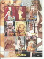 SOMALIA  H/B  ACTRICES   MNH  ** - Somalia (1960-...)