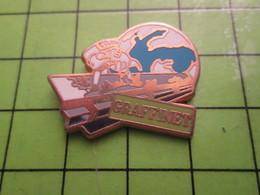 718a Pin's Pins / Beau Et Rare : Thème MARQUES / GRAFFINET GLOBE TERRESTRE - Trademarks