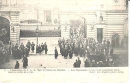 Bruxelles - CPA - Brussel - Funérailles De S. A. R. Mgr Le Comte De Flandre - Fêtes, événements