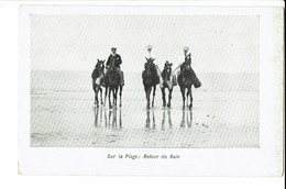 Carte Postale - Belgique -Mer Du Nord - Retour Du Bain-  S1272 - Belgique