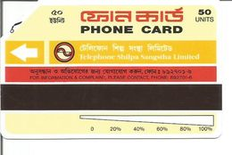 Télécarte Du BANGLADESH (50 Unités) - Bangladesh