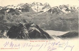 Suisse - CPA - GR Grisons - Roseg Vom Piz Julier Aus - GR Grisons