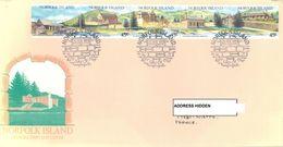 NORFOLK ISLAND - FDC - 23.2.1993 - TOURISM - Yv 526-530 ASC 533a - Lot 17505 - Ile Norfolk