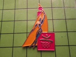 718a Pin's Pins / Beau Et Rare : Thème JEUX OLYMPIQUES / SERIE RARE ET PEU VUE BARCELONE 1992 BASKET-BALL - Olympic Games