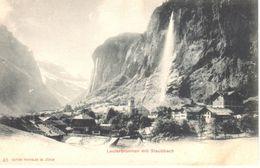 Suisse - CPA - BE Berne - Lauterbrunnen Mit Staubbach - BE Berne