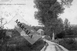 CPA   Guivry  La Pommeroye - Francia