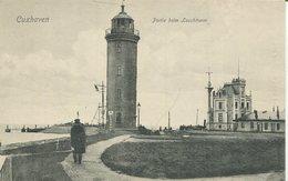 004501  Cuxhaven - Partie Beim Leuchtturm - Cuxhaven