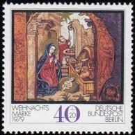 GERMAN Berlin - Scott #9NB163 Christmas '79, Nativity / Mint NH Stamp - Berlin (West)
