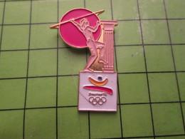 718a Pin's Pins / Beau Et Rare : Thème JEUX OLYMPIQUES / SERIE RARE ET PEU VUE BARCELONE 1992 LANCER DU JAVELOT - Olympic Games