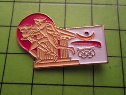 718a Pin's Pins / Beau Et Rare : Thème JEUX OLYMPIQUES / SERIE RARE ET PEU VUE BARCELONE 1992 COURSE A OILPé - Olympic Games