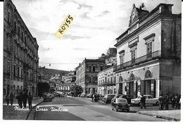 Sicilia-modica Corso Umberto Veduta Auto Epoca  500 Bianchina 1100 Giulietta Teatro Garibaldi Animata (vedi Prima Retro) - Modica
