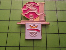 718a Pin's Pins / Beau Et Rare : Thème JEUX OLYMPIQUES / SERIE RARE ET PEU VUE BARCELONE 1992 110M HAIES  A OILPé - Olympic Games