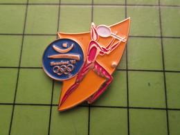 718a Pin's Pins / Beau Et Rare : Thème JEUX OLYMPIQUES / SERIE RARE ET PEU VUE BARCELONE 1992 TENNIS - Olympic Games