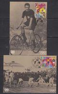 United Nations Geneva 1996 Sports Et  Environnement 2v 2 Maxicards (39559B) - Maximumkaarten