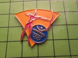 718a Pin's Pins / Beau Et Rare : Thème JEUX OLYMPIQUES / SERIE RARE ET PEU VUE BARCELONE 1992 TIR A L'ARC - Olympic Games
