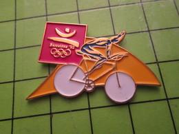 718a Pin's Pins / Beau Et Rare : Thème JEUX OLYMPIQUES / SERIE RARE ET PEU VUE BARCELONE 1992 CYCLISME - Olympic Games