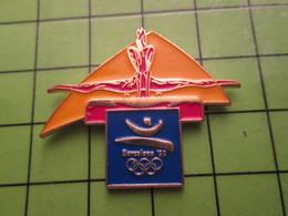718a Pin's Pins / Beau Et Rare : Thème JEUX OLYMPIQUES / SERIE RARE ET PEU VUE BARCELONE 1992 GYMNASTIQUE CHEVAL D'ARçON - Olympic Games