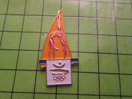 718b Pin's Pins / Beau Et Rare : Thème JEUX OLYMPIQUES / SERIE RARE ET PEU VUE BARCELONE 1992 POUTRE APPARENTE - Olympic Games