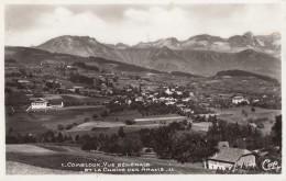 CPA - Combloux - Vue Générale Et La Chaîne Des Aravis - Combloux