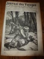 1882 JdV : Chasse Au Loup En Russie Avec Jules Garnier Et Les Cosaques ; (Gravure) ---->Un Navire Sur L'Ohio (USA); Etc - Periódicos
