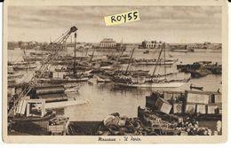 Eritrea Colonie Italiane Colonia Italiana Massaua Il Porto Veduta Animatissima Porto - Eritrea