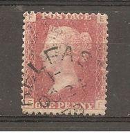 Gran Bretaña/ Great Britain Nº  Yvert  26 Pl. 192 (usado) (o) - Used Stamps
