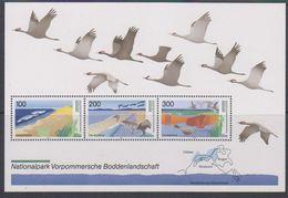 Germany 1996 Nationalpark Vorpommersche Boddenlandschaft M/s ** Mnh (39563) - [7] West-Duitsland