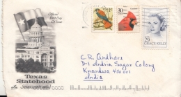 United States  2000  Mailed Cover To India  #  12494   D  Inde Indien - United States
