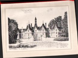 JM JACQUIN ,  Chateau De BONNETABLE  , Offert Par Les Mutuelles Générale Française , Dépliant - Bonnetable